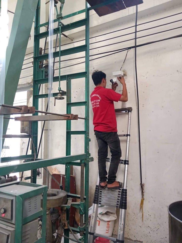Lắp đặt camera quan sát kho xưởng